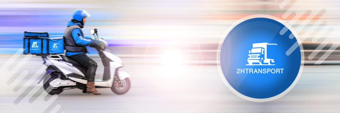 coursier moto Paris