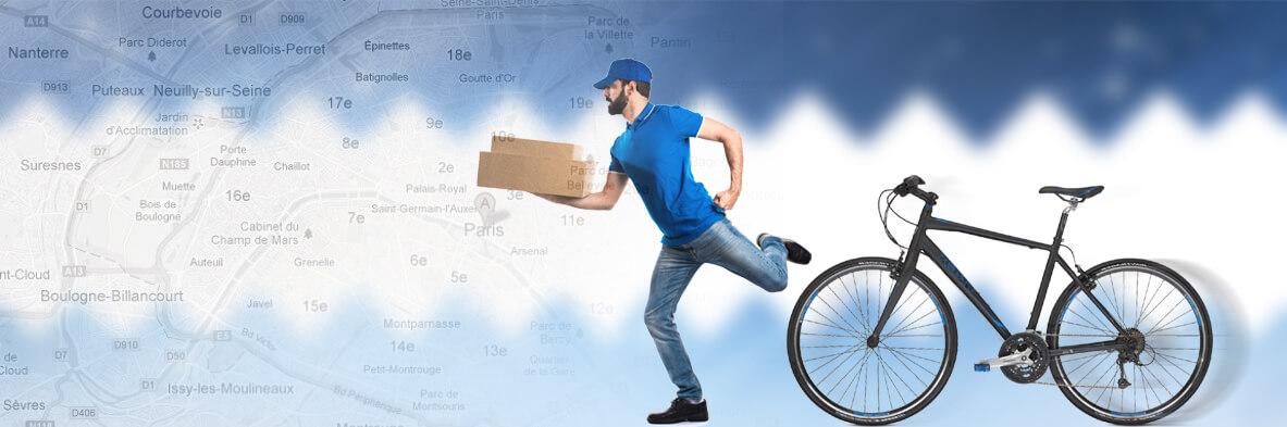 2H Transport : Coursier vélo pas cher